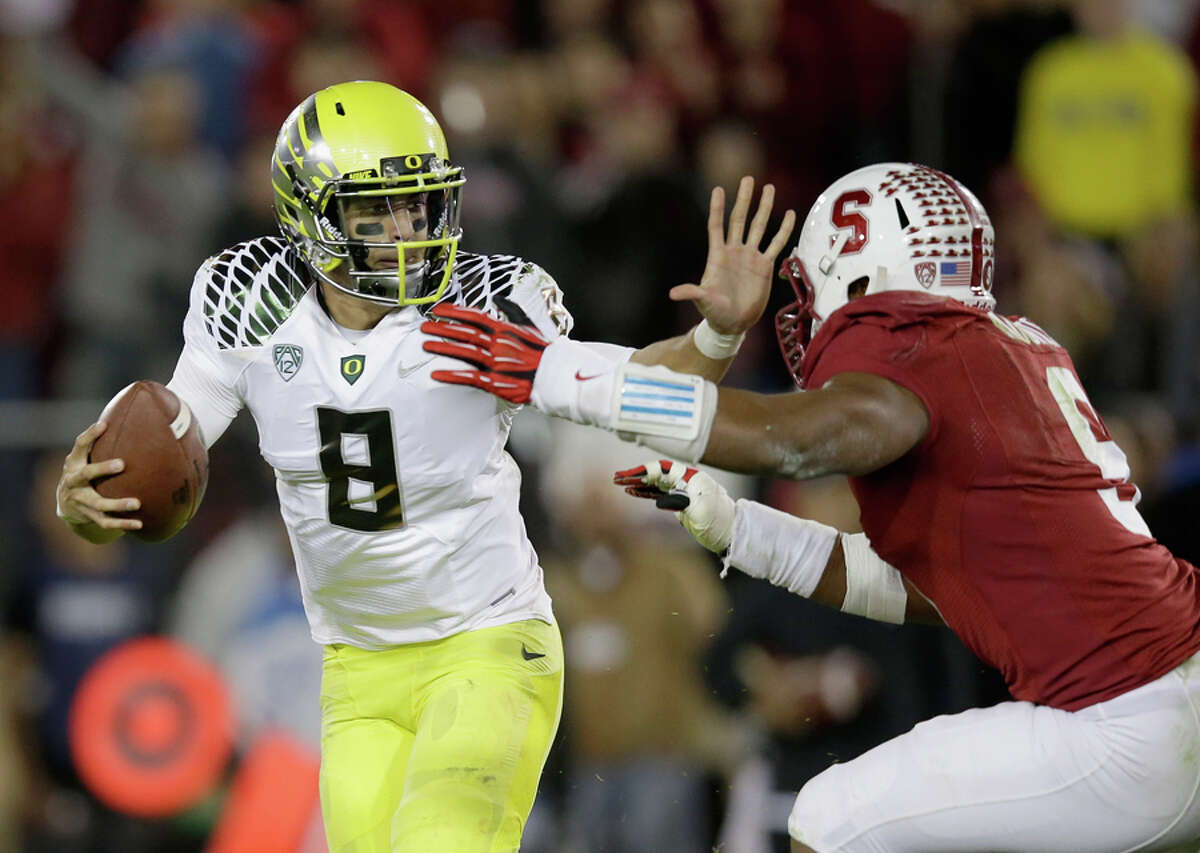 Nov. 1 - Stanford at Oregon Stanford isn't the team college football fans of the past decade are used to seeing, but expect them to play the Ducks tough on the road.