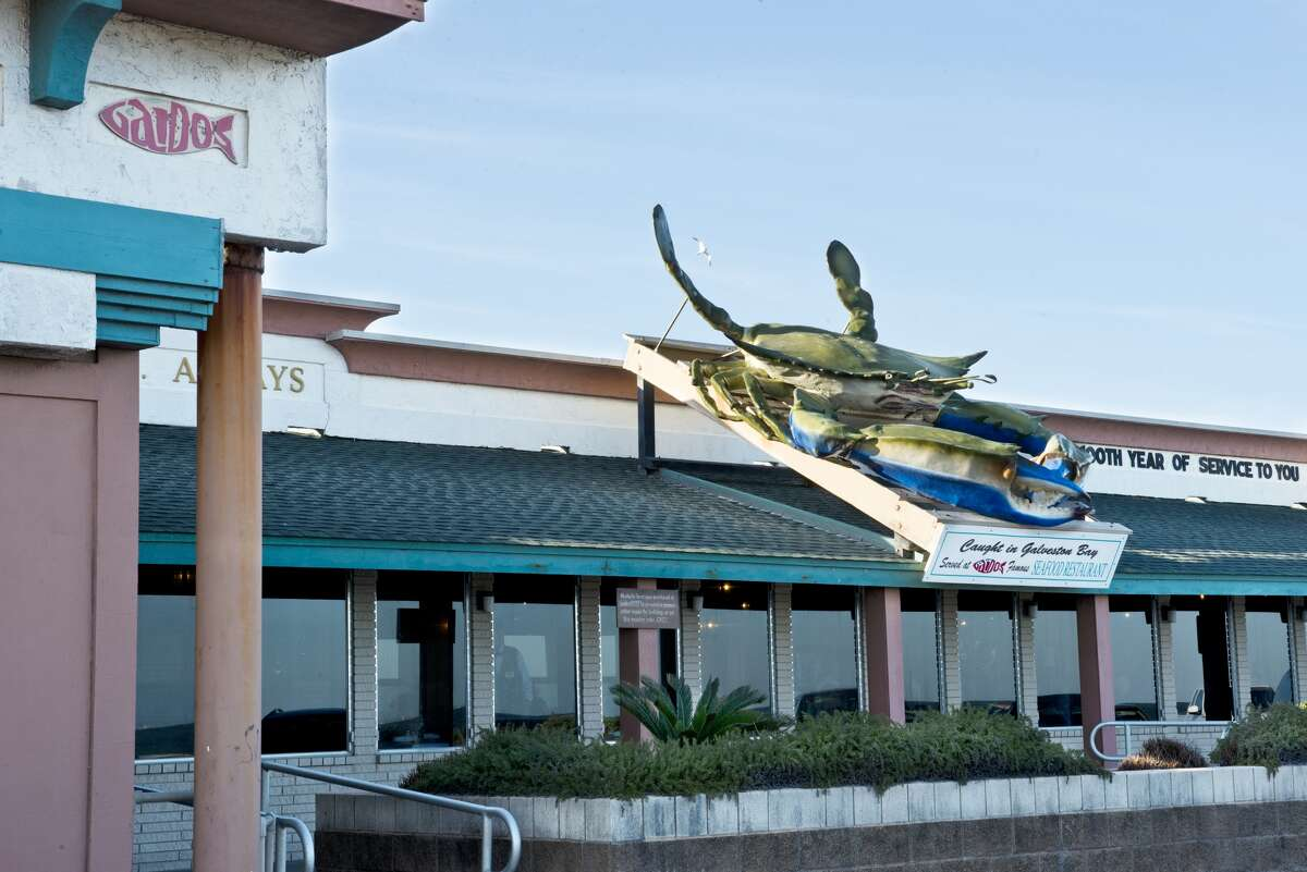 Gaido's giant blue crab is one of the island's most iconic landmarks.