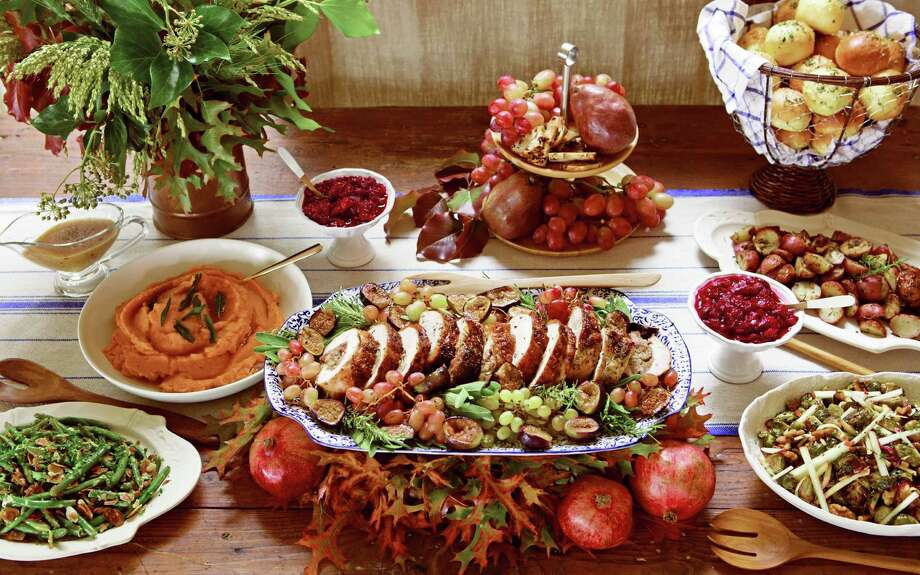 There's nothing more American than Thanksgiving, but not every American  eats the same thing. The New York Times set out to identify one  Thanksgiving dish to represent each state. They reached out to both  professional and family chefs to find traditional and modern recipes  from each of the 50 states plus Washington DC and Puerto Rico. Click through to see some of these dishes and visit nytimes.com for the recipes and the back stories to all the unique food. Photo: Buff Strickland / ONLINE_YES