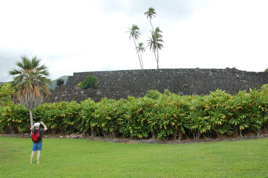 Maui: While the National Tropical Botanical Garden received a charter from Congress in 1964, the massive Piilanihale Heiau on the site of NTBG's Kahanu Garden in East Maui is believed to have been built in stages that began as early as the 13th century. Photo: Jeanne Cooper, SFGate