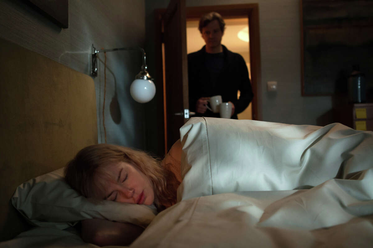 Nicole Kidman stars as an amnesia victim and Colin Firth is the husband she wakes up not recognizing each day in