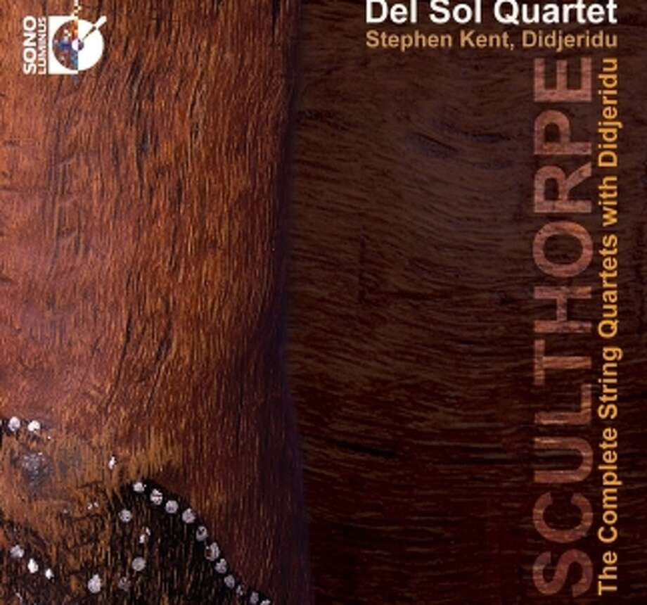 CD cover: Del Sol Quartet/Peter Sculthorpe Photo: Sono Luminus / ONLINE_YES