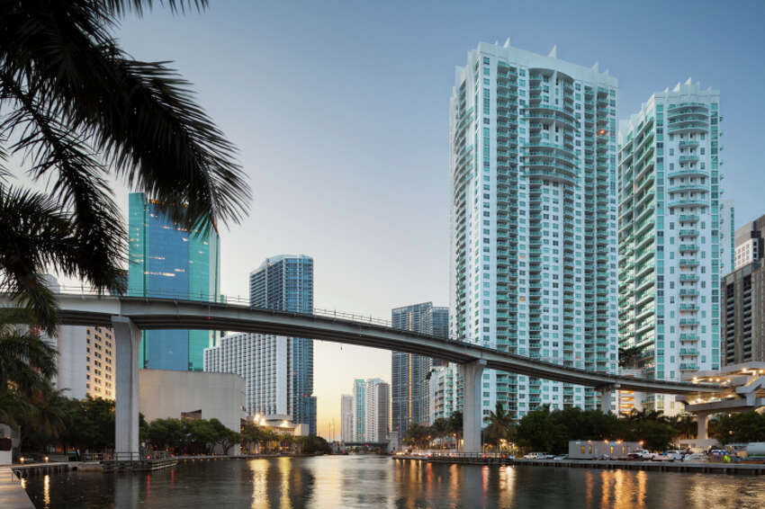 LONGEST LIFE EXPECTANCY AMONG THE POORMiami, FLAverage life expectancy: 81.2 years (40-year-olds with household incomes below $28,000)Source: New York Times