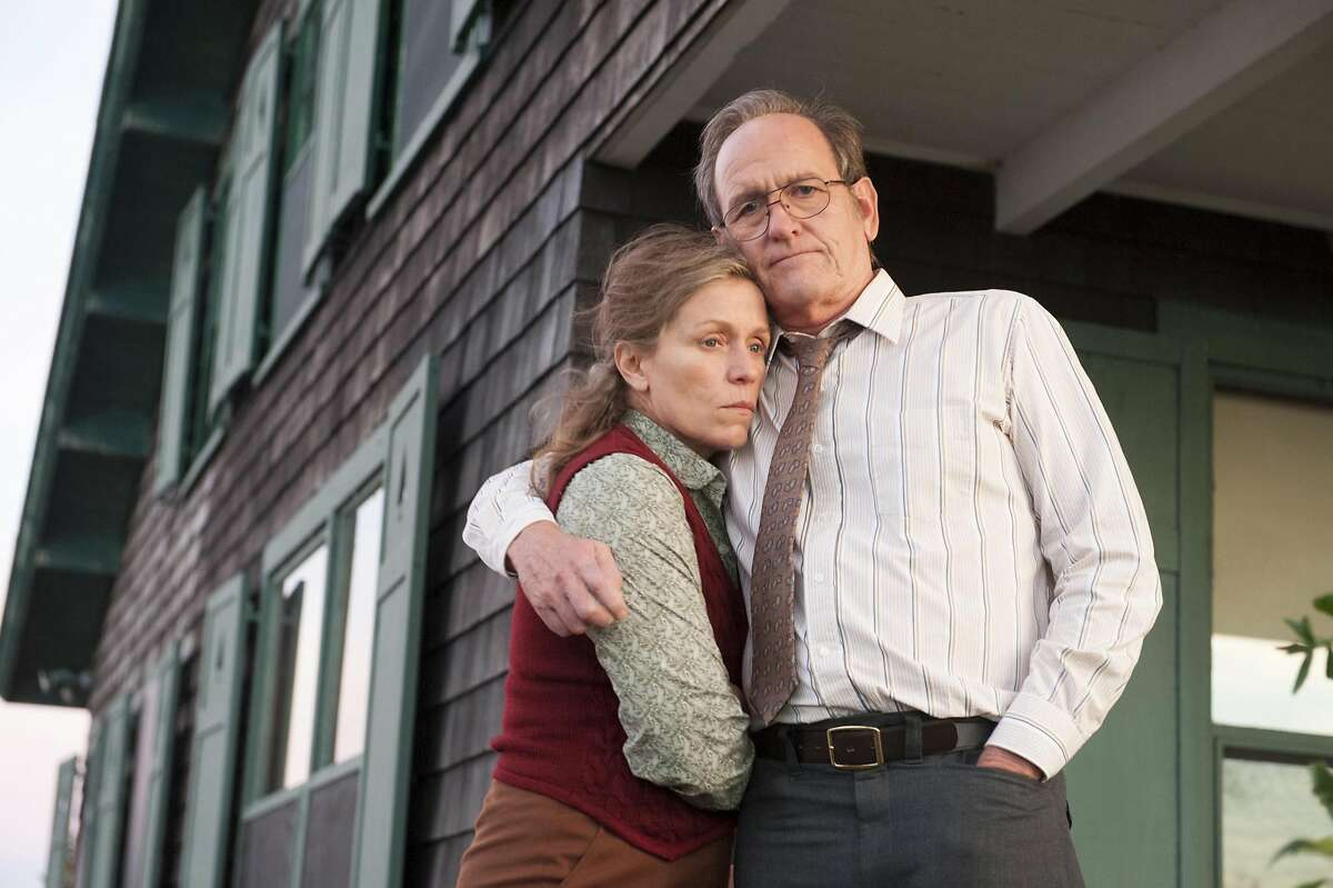 Richard Jenkins and Frances McDormand star as Henry and Olive Kitteridge in the new HBO mini-series