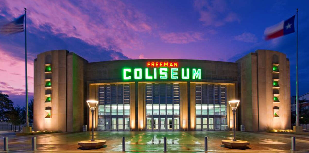 THE FOLLOWING ARE 10 FACTS ABOUT THE FREEMAN COLISEUM  Fact 1: The Freeman Coliseum celebrates is 70th birthday this Saturday.