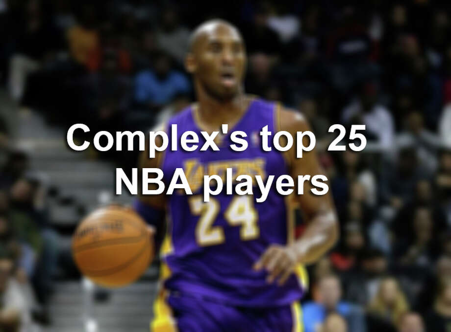 Complex ranked the top 25 players currently in the NBA.Scroll through to see if your favorite player made the list. Photo: John Bazemore, AP Photo/John Bazemore / AP