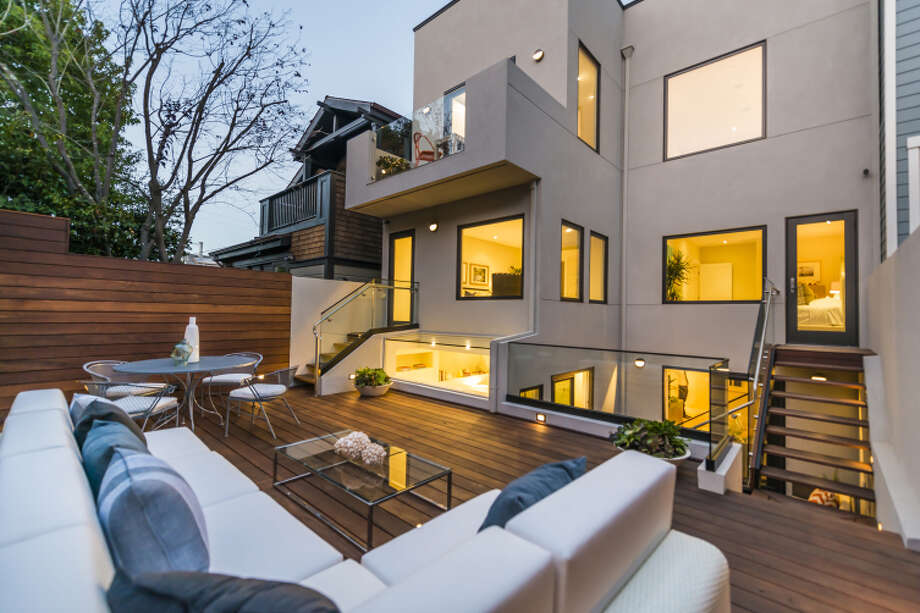 1214 Diamond St. in Noe Valley offers multiple outdoor spaces and an Ipe wood deck.Click here to check out more listings in Noe Valley » Photo: Olga Soboleva/Vanguard Propertie / ONLINE_CHECK