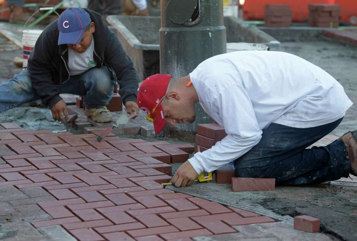 GALLERY: SF city jobs that pay more than teachers BRICKLAYER SALARY RANGE: $85,410 - 103,714 EXPERIENCE: High school diploma, 2 years journeyman bricklaying More details