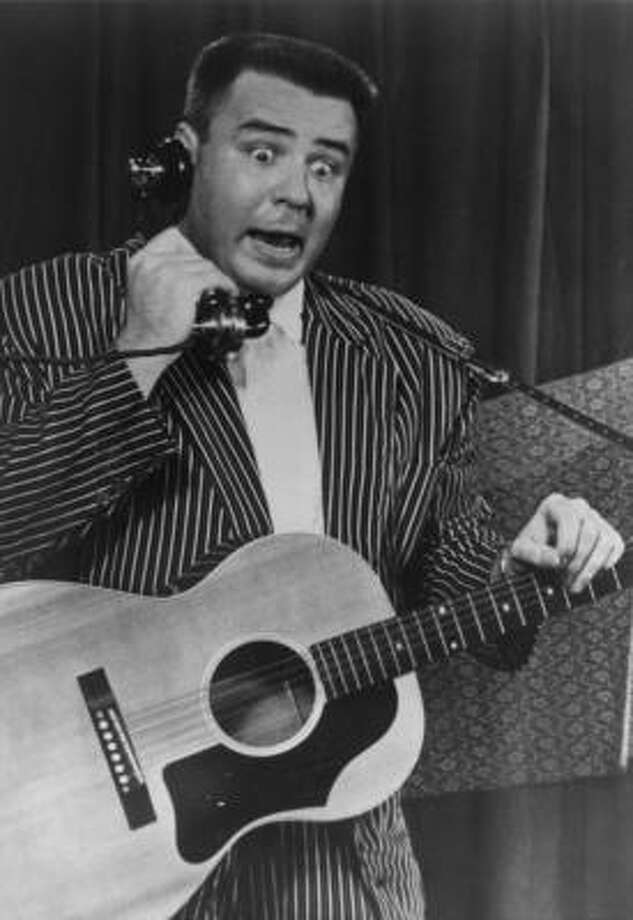 J.P. Richardson, aka The Big Bopper, age 29, plane crash. (Feb. 3, 1959)