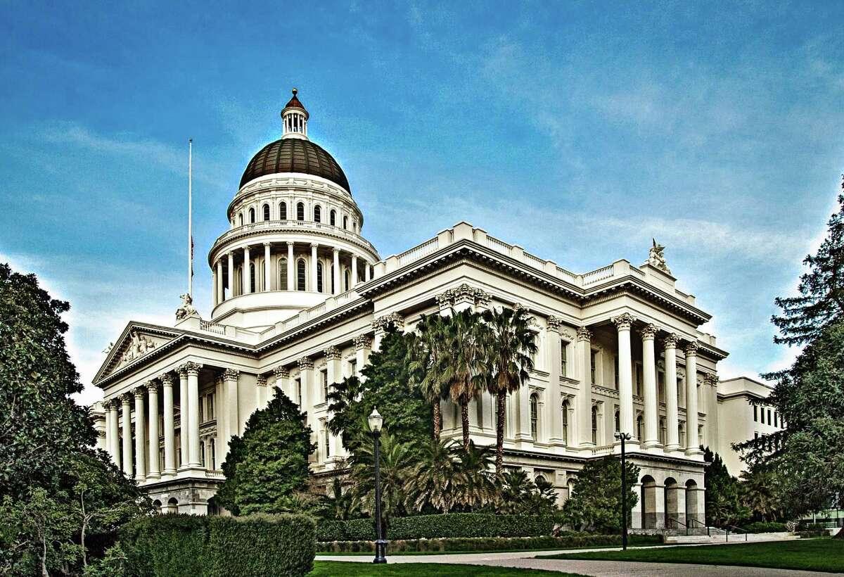 No. 9 : California Up 2.2 percent (tie)