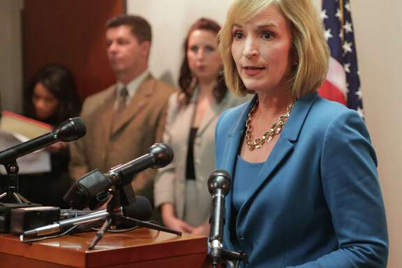 Harris County DA Devon Anderson said accusations she was responsible 'makes me physically ill.'