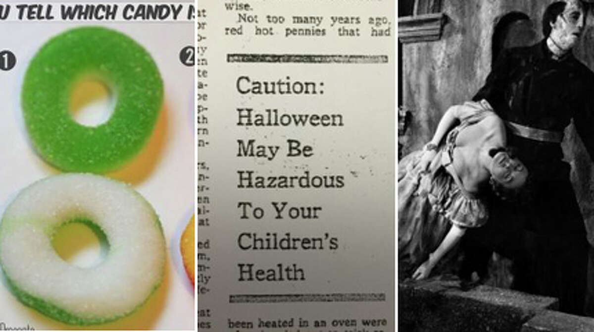 Officials are again this year warning everyone about marijuana-infused edibles getting mixed in with Halloween treats, and sure be careful. But, this is just the latest version of a long-running Halloween fear. In this gallery, we've assembled a gallery of notorious Halloween scares that were ... well ... B.S. Click through to see the fears, myths and hysteria!