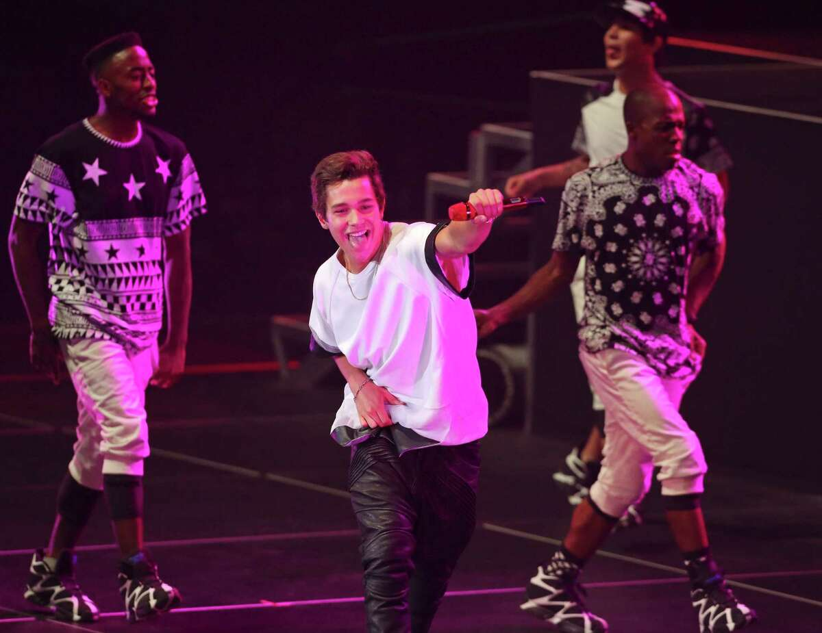 2. Mahone has built his career through social media. As of December 2014, he has more than 7.5 million Twitter followers; but also follows more than 55,000 profiles, and has more than 13.2 million likes on Facebook. He's also a frequent Instagram user and first started sharing his videos on YouTube.