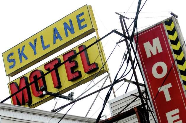 Skylane Motel on Central Avenue on Saturday, Aug. 31, 2013, in Colonie, N.Y. (Cindy Schultz / Times Union) Photo: Cindy Schultz / 00023716A