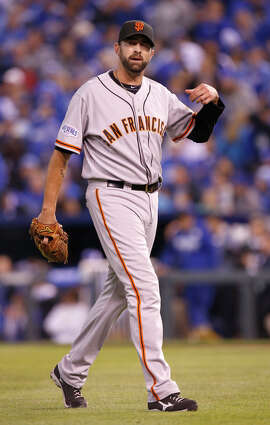 Jeremy Affeldt pitched 2 1/3  shutout innings in Game 7 of the 2014 World Series.