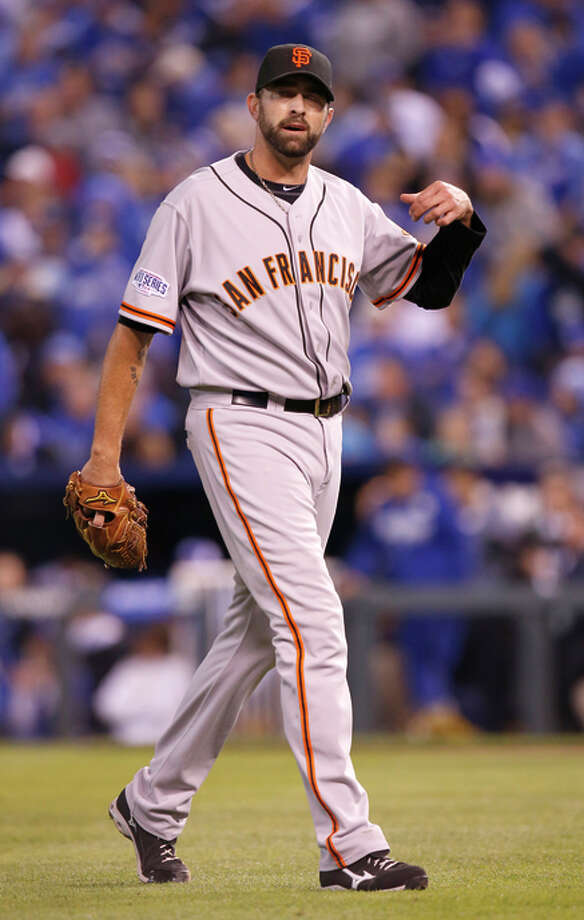 Jeremy Affeldt pitched 2 1/3  shutout innings in Game 7 of the 2014 World Series. Photo: Michael Macor / The Chronicle / ONLINE_YES
