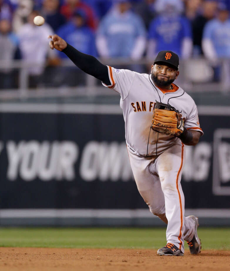If Pablo Sandoval doesn't return, the Giants' options for replacing him at third base appear to be limited. Photo: Scott Strazzante / The Chronicle / ONLINE_YES