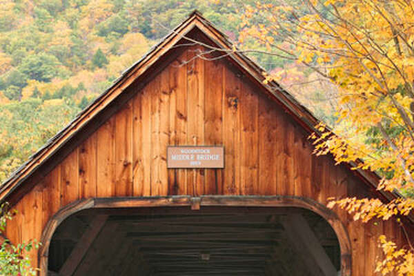 The Inspiration: Bring The Outside In Let the scenic charm of the country inspire your next decorating project! We used this photo of a covered bridge framed by fall foliage to pull together the pieces for an inviting guest room. RELATED:9 Ways to Maintain Your Garden This Fall 15 Effortlessly Beautiful DIY Fall Centerpieces9 Fun Fall Party Treats6 Fresh Fall Items for Your Home20 Inspiring DIY Projects17 Crazy-Delicious Recipes Served in Mason Jars8 Color Rules To Follow For A Brighter, Happier Home