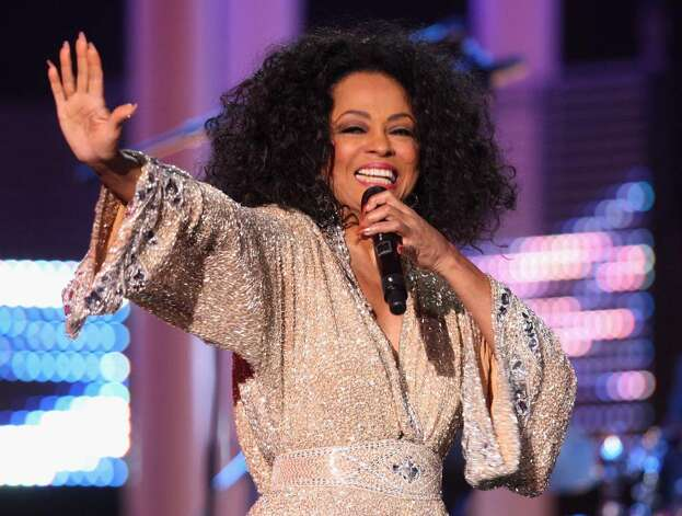 OSLO, NORWAY - DECEMBER 11:  Diana Ross performs at the Nobel Peace Prize Concert 2008 at the Oslo Spektrum on December 11, 2008 in Oslo, Norway. The Norwegian Nobel Committee yesterday awarded the Nobel Peace Prize for 2008 to Martti Ahtisaari for his efforts to resolve international conflicts. Actors Michael Caine and Scarlett Johansson hosted the gala event, which featured, performances by Ross, operatic quartet Il Divo and Swedish singer-songwriter Robyn.  (Photo by Chris Jackson/Getty Images) *** Local Caption *** Diana Ross Photo: Chris Jackson, Getty Images / 2008 Getty Images