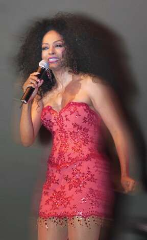 6-24-2004, ROGER SHERMAN BALDWIN PARK, Diana Ross in action at benefit concert, RSB Park, Greenwich......PHOTO/LUCKEY Photo: File Photo / Greenwich Time File Photo