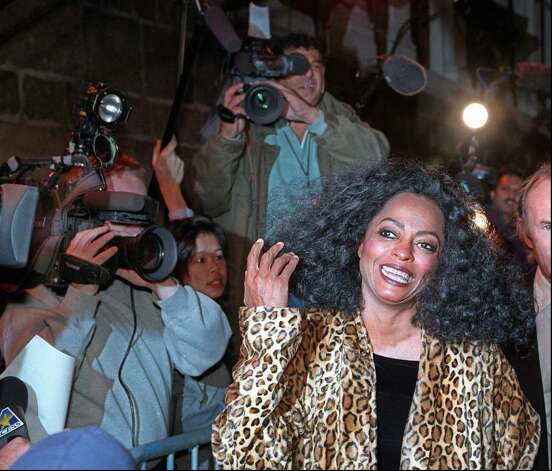 Singer Diana Ross arrives at the Children's Museum of Manhattan Thursday, Oct. 3, 1996, for a party launching a special 'James' exhibit and festival celebrating the release of the Walt Disney home video 'James and the Giant Peach.' (AP Photo/Ron Frehm) Photo: File Photo / Greenwich Time File Photo