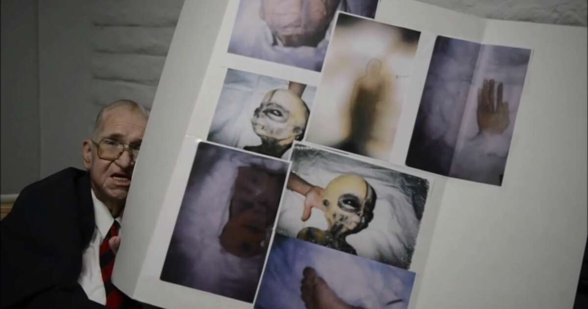A YouTube video featuring Texas man Boyd Bushman, a former Lockheed Martin and Texas Instruments employee who died Aug. 7 at age 78, describing his encounters with aliens while working at Area 51.