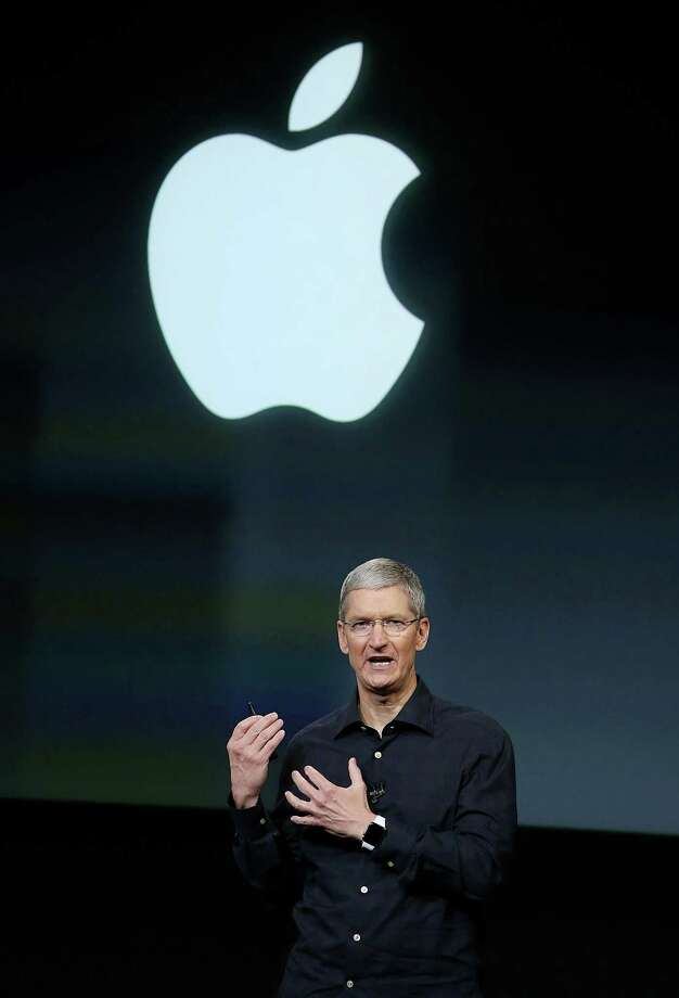 Apple CEO Tim Cook has acknowledged he is gay while advocating for human rights reportedly in an essay in Businessweek. Photo: Justin Sullivan / Getty Images / 2014 Getty Images