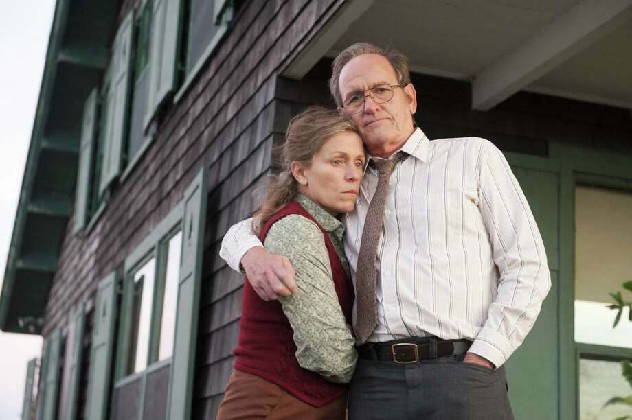 "Frances McDormand and Richard Jenkins deliver strong performances as two halves of the central marriage in the miniseries ""Olive Kitteridge,"" which airs Sunday and Monday on HBO. Photo: Jojo Whilden / BO"