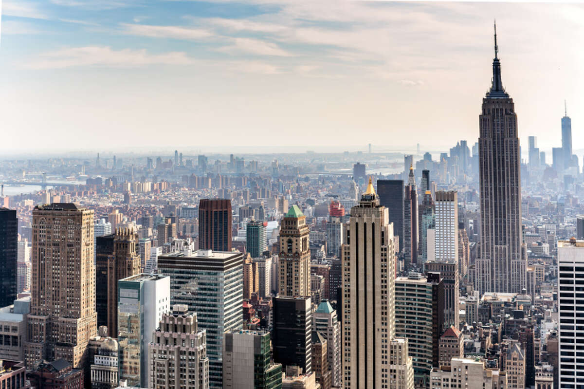 No. 1: New York Total Residential Real Estate Value: $2.549 trillion Median Home Value: $454,000 Country Equivalent: France Source: LendingTree