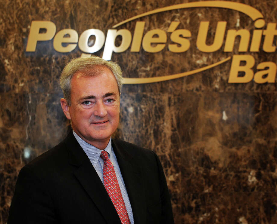 John Traynor, chief investment officer of People's United Bank Wealth Management division, in Bridgeport, Conn. Oct. 23, 2014. Photo: Ned Gerard / Connecticut Post