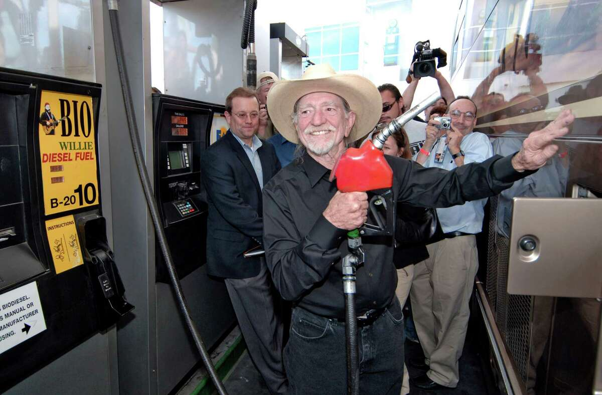 Singer Willie Nelson unveiled the first BioWillie pump in 2006, but his biodiesel dream has since idled as tax credits disappeared.