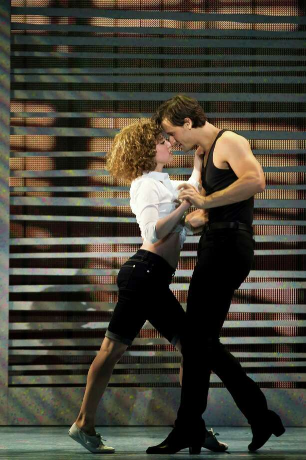 Jillian Mueller (Baby) and Samuel Pergande (Johnny) in the North American tour of DIRTY DANCING - THE CLASSIC STORY ON STAGE. (Photo by Matthew Murphy) Photo: Matthew Murphy, Courtesy Photo / Matthew Murphy