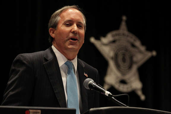 Ken Paxton, Republican candidate for Attorney General of Texas, speaks Monday July 28, 2014 during the Annual Training Conference for the Sheriffs' Association of Texas. The conference is taking place at the Henry B. Gonzalez Convention Center.