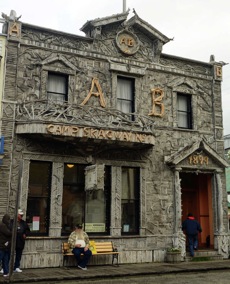 The old Arctic Brotherhood building still sits on the main street of Skagway. Photo: Bill Fink / Bill Fink / Special To The Chronicle / ONLINE_YES