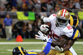 Vernon Davis played Oct. 13 in St. Louis but feels much healthier for the teams' rematch on Sunday.