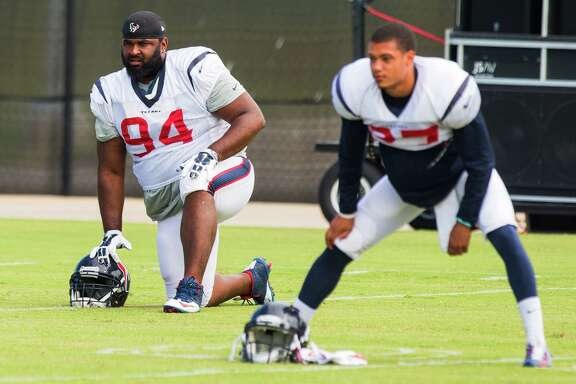 The Texans have allowed an average of 50 fewer yards rushing in the five games nose tackle Ryan Pickett has started.