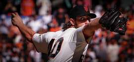 Madison Bumgarner has pitched 36 innings over three World Series and has allowed one run for a major-league- record 0.25 ERA in the Fall Classic.