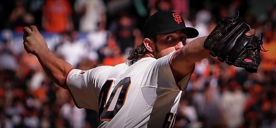 Madison Bumgarner has pitched 36 innings over three World Series and has allowed one run for a major-league- record 0.25 ERA in the Fall Classic. Photo: Scott Strazzante / The Chronicle / ONLINE_YES