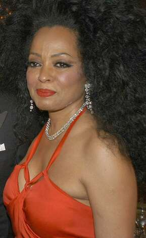 **FILE**Singer Diana Ross poses for photographers on arrival for the Costume Institue Gala at The Metropolitan Museum of Art, on  April 28, 2003 in New York. (AP Photo/Metropolitan Museum of Art, Don Pollard,file) Photo: File Photo / Greenwich Time File Photo