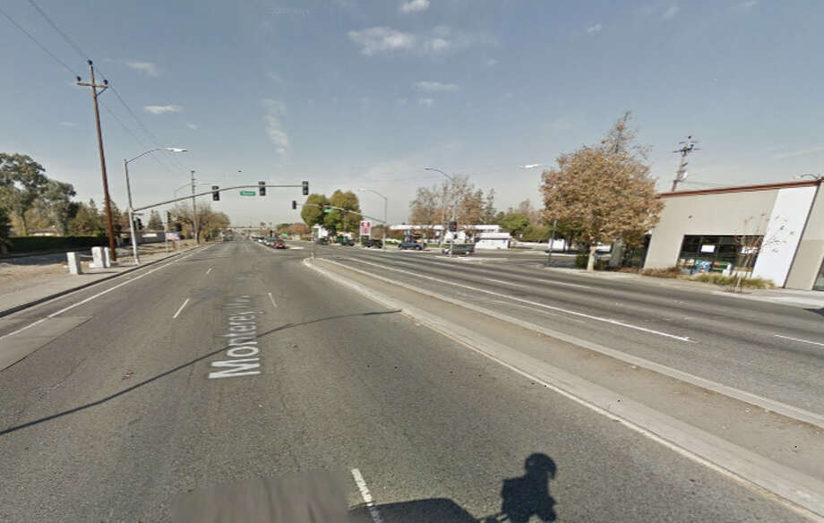 A pedestrian was struck and killed Thursday evening near Monterey & Senter streets in San Jose, CA Photo: Google Maps