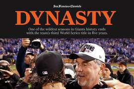 San Francisco Giants 2014 magazine cover