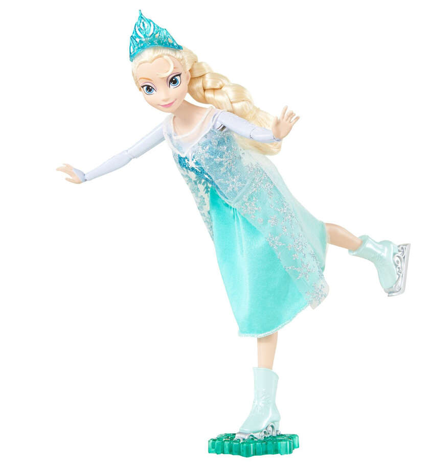 "The bounce, stride and ride elephant by Fisher-Price, the ice-skating Elsa doll from ""Frozen,"" and the Lego Batman 3: Beyond Gotham for Xbox 360 are among the Moms Picks list on Amazon. Photo: Mattel / ONLINE_YES"