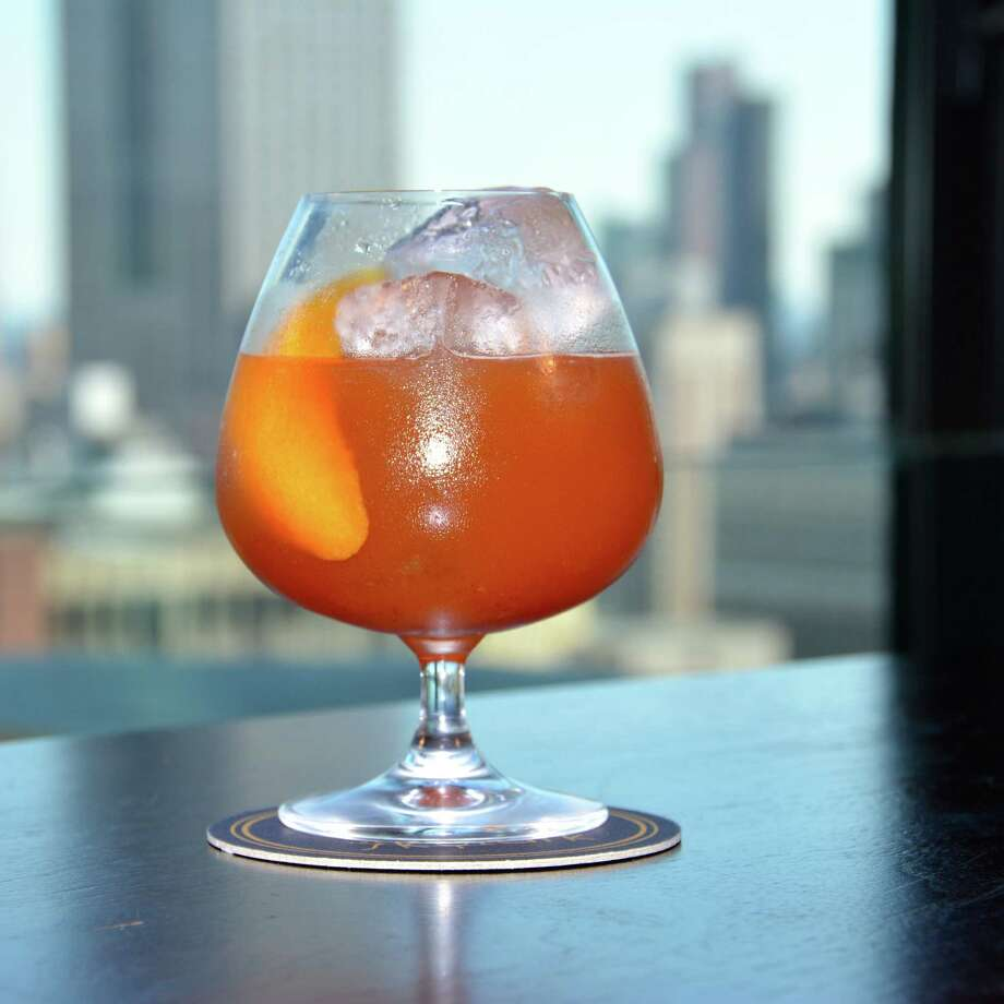Peter, Peter Pumpkin Eater is a fall cocktail made with Laird's Bonded Apple Brandy Photo: Laird's / Larid's