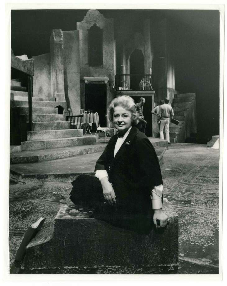 Alley Theatre founder Nina Vance ran the company for its first 33 years. Photo: Courtesy UH