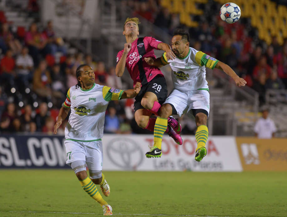 The San Antonio Scorpions have demonstrated the viability of soccer in the city. Now is the time to move up to an MLS franchise. Photo: Robin Jerstad / Robin Jerstad / For The Express-News