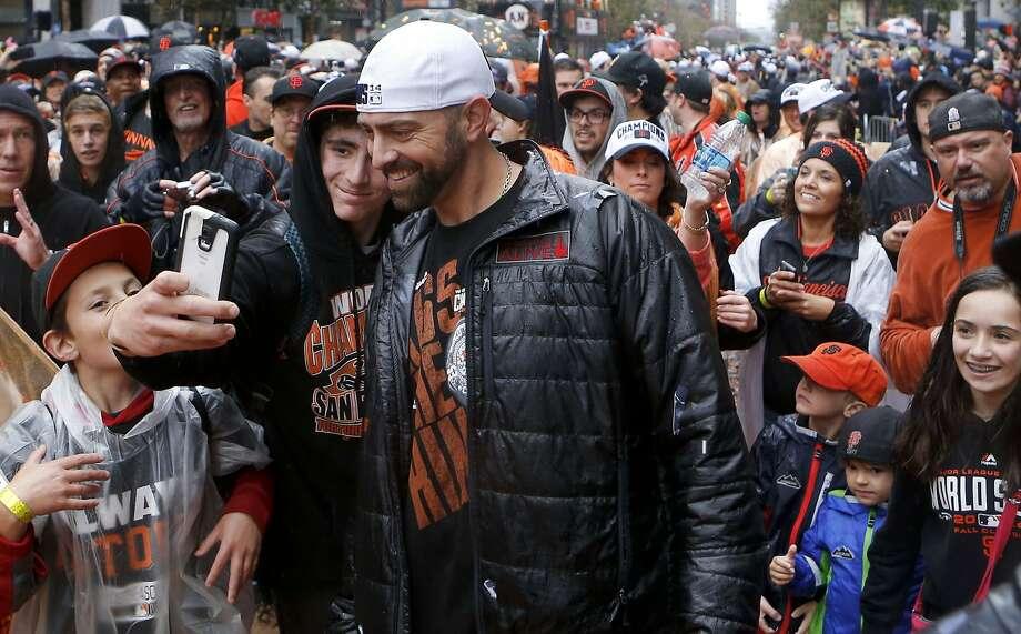 Jeremy Affeldt Photo: Michael Macor, The Chronicle