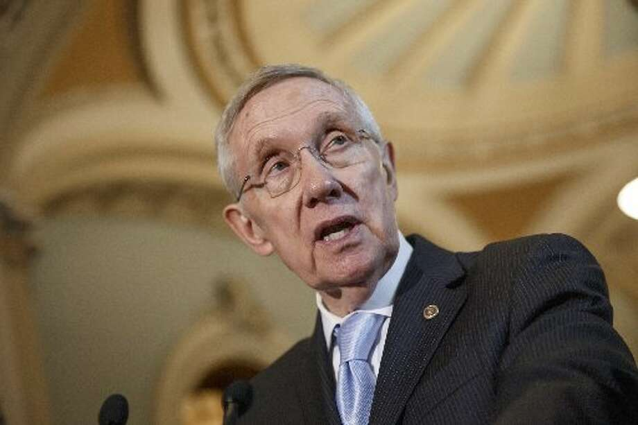 Harry Reid, on first name basis