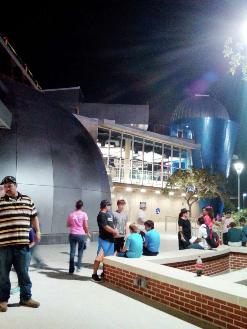 San Antonio College's new Scobee Education Center offers a variety of space science-related missions, and includes a renovated planetarium and a rocket-shaped star deck with telescope.