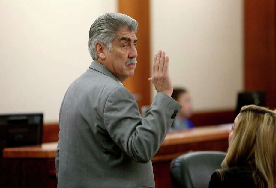 Harris County Precinct 6 Constable Victor Trevino, a 26-year lawman, is accused of diverting money from his nonprofit charity for his personal use. Photo: Gary Coronado, Staff / © 2014 Houston Chronicle