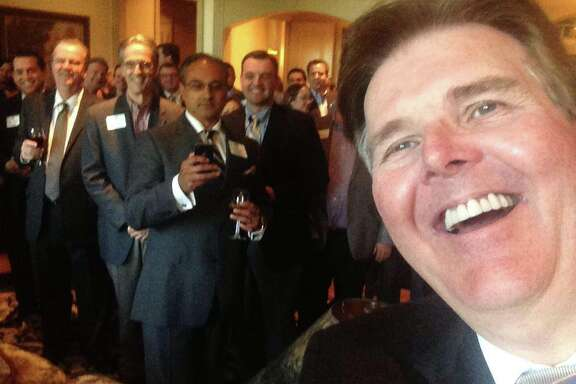 Here are a few of the selfies that state Sen. Dan Patrick, the GOP candidate for lieutenant governor, has taken at campaign events and has posted on Facebook.